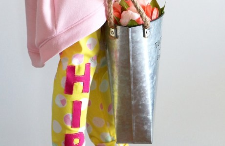 Tutorial: Girls Hip Hop Easter Leggings
