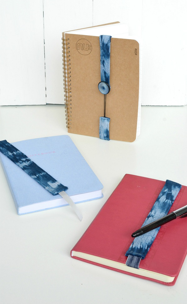 Tutorial: 2 ways to make a fabric and elastic bookmark
