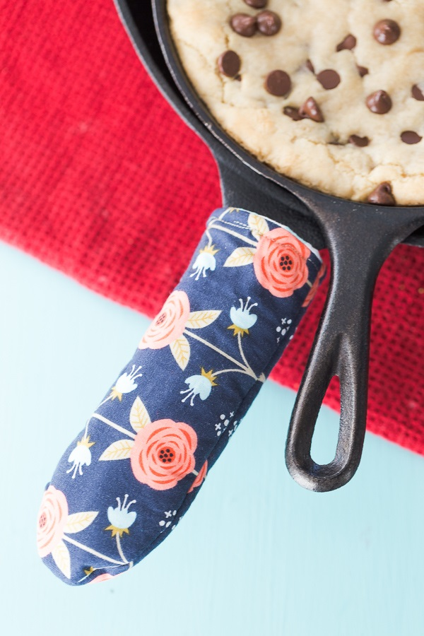 Tutorial Skillet Handle Cover Sewing