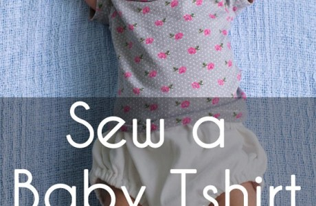 Tutorial and pattern: Baby t-shirt