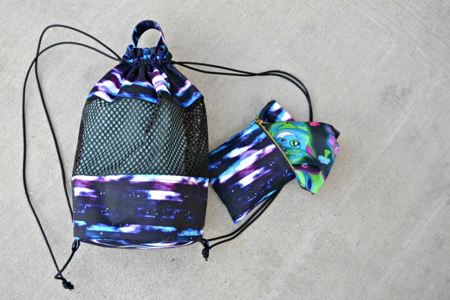 Tutorial: Beach backpack with wet bag