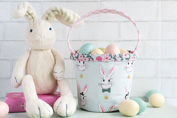 Tutorial: Fabric Easter basket