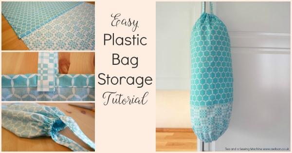 Tutorial: Plastic bag organizer