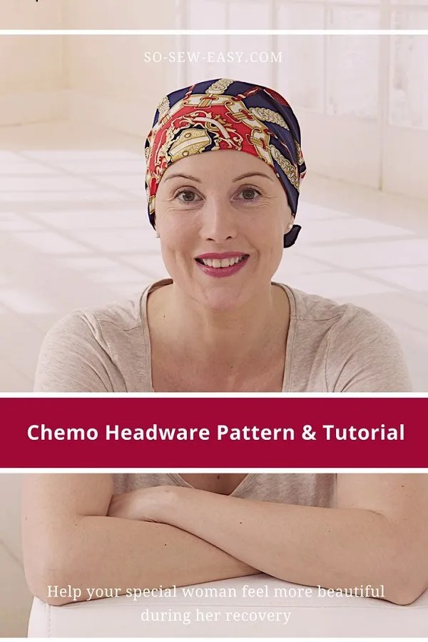 Tutorial and pattern: Chemo cap