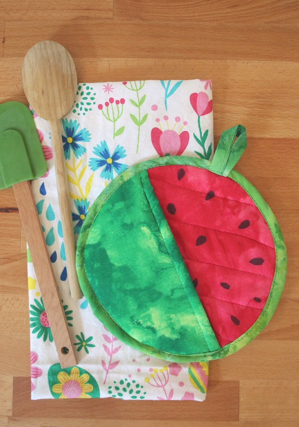 Tutorial: Watermelon Pot Holder