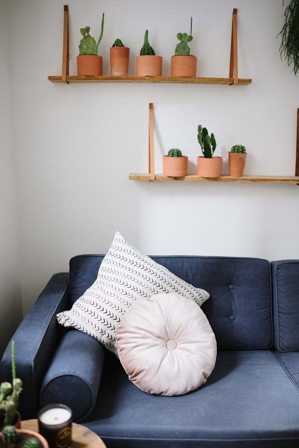 Tutorial: Round tufted cushion