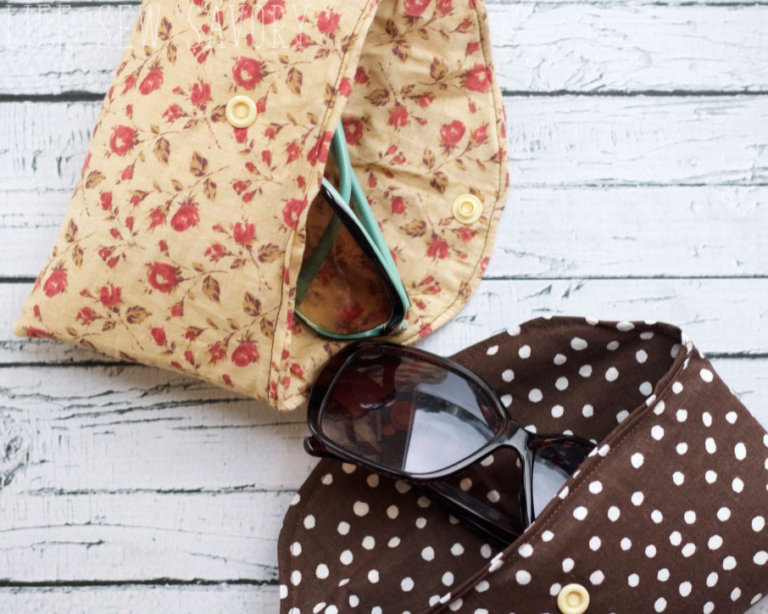 Tutorial: Sunglasses case