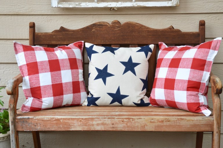 Tutorial: Star spangled pillow