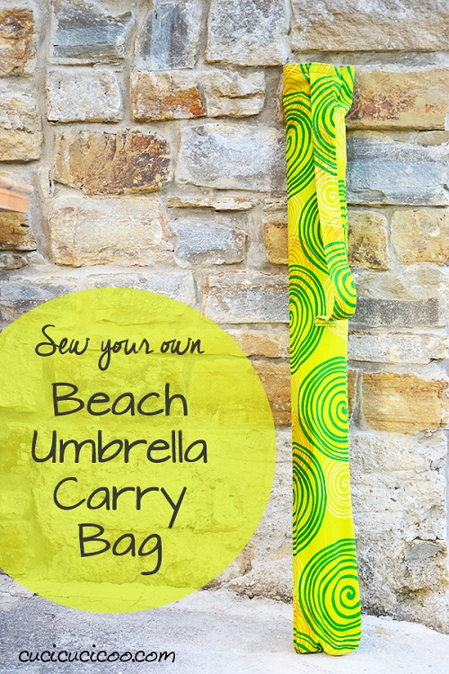Tutorial: DIY beach umbrella bag