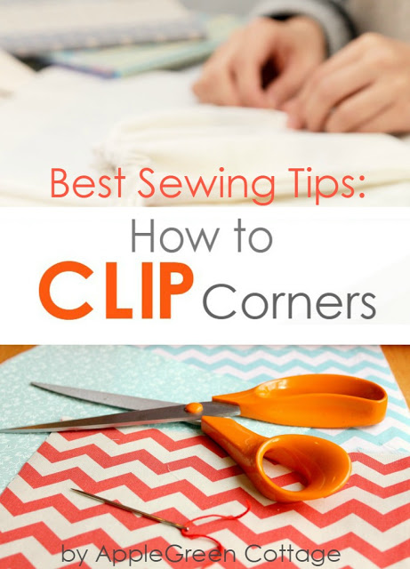 Tutorial: Best method for clipping corners in your sewing