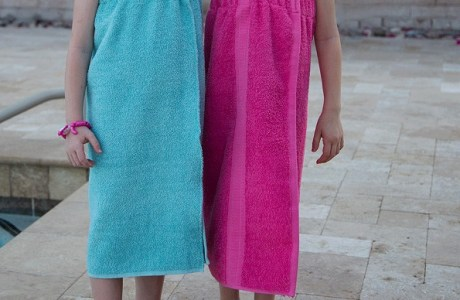 Tutorial: Towel wrap cover up