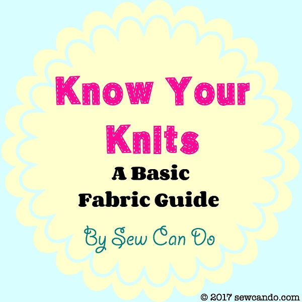 Tutorial: All about knit fabric types, weights, and amount of stretch