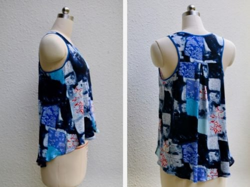 Tutorial and pattern: Women's racer back summer tank