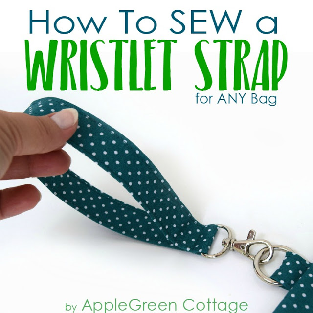 Tutorial Sew a removable wristlet strap for a bag or pouch