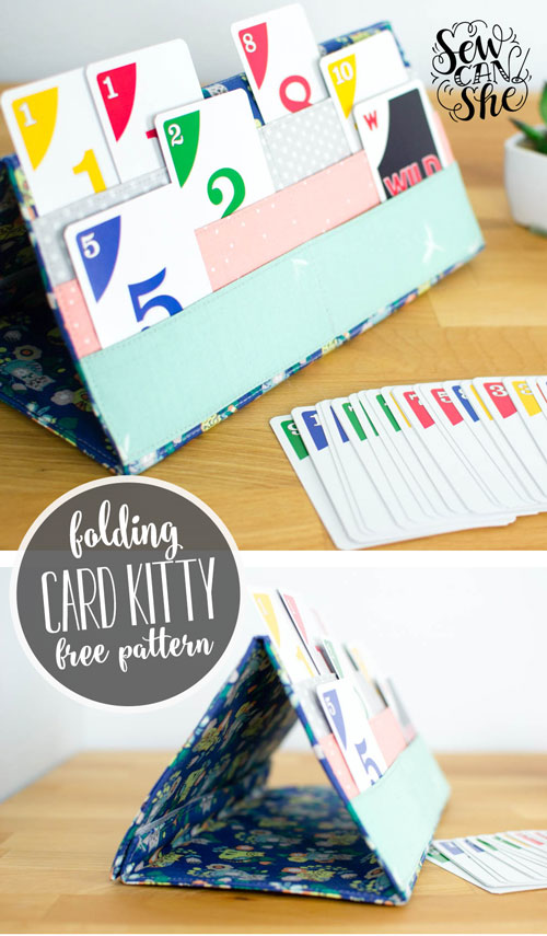 Tutorial: Card Kitty playing card holder