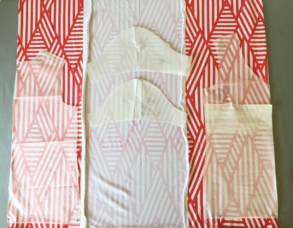 Tips for laying out a sewing pattern to get the most from your fabric