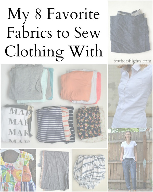 Best fabrics for sewing clothing