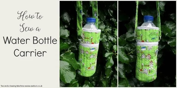 Tutorial: Quilted water bottle carrier – Sewing : quilted water bottle holder pattern - Adamdwight.com