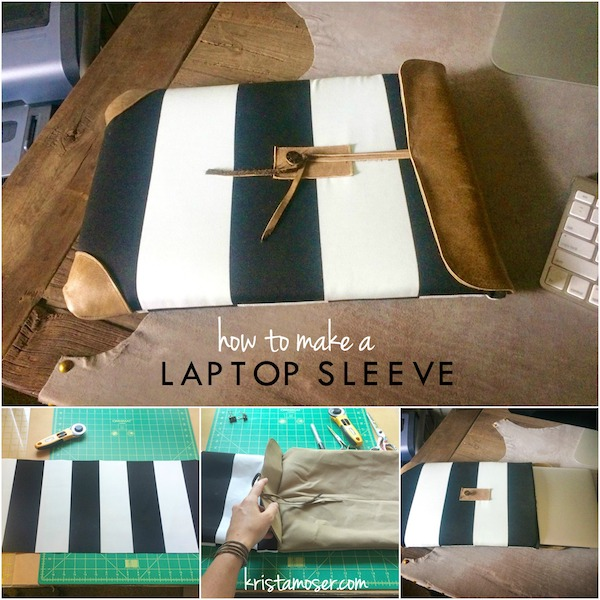 Tutorial: Padded laptop sleeve
