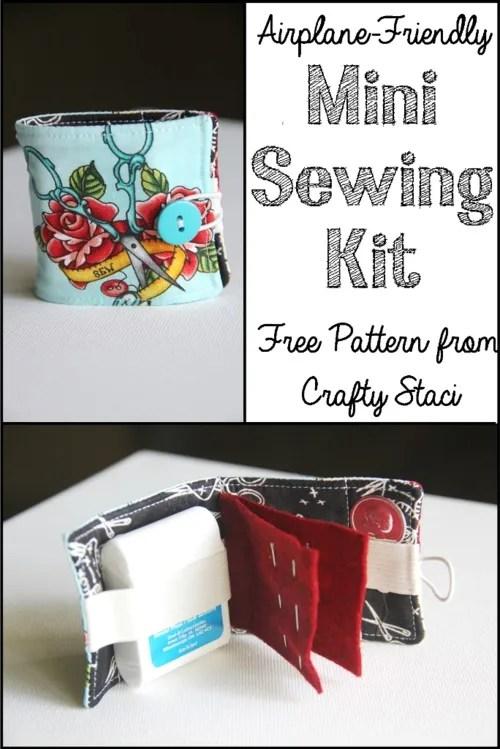 Tutorial: Airplane travel sewing kit