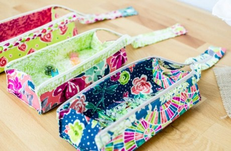 Tutorial and pattern: Zola zipper pen case