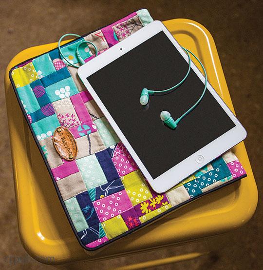 Tutorial: Pretty patchwork tablet sleeve