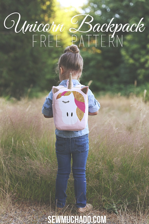 Tutorial and pattern: Unicorn backpack