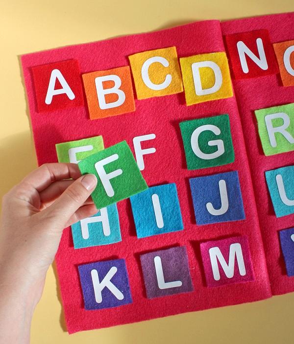 Alphabet Tiles Crafts