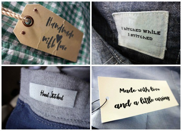 Make cute and sassy handmade labels with these cut files