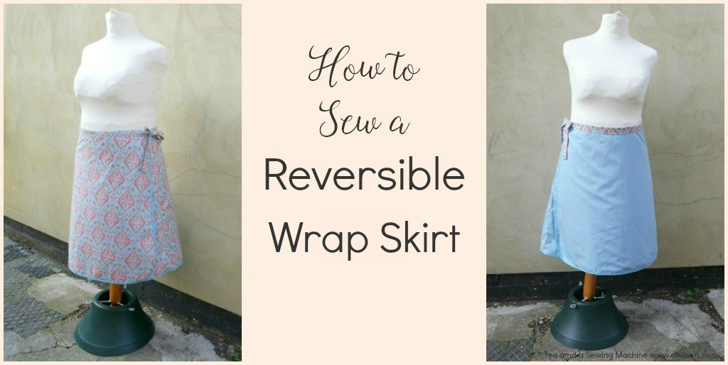 Tutorial: Reversible wrap skirt