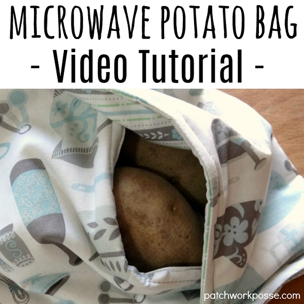 Tutorial: Sew a baked potato microwave bag
