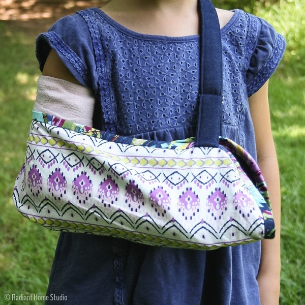 Tutorial: Sew a broken arm sling