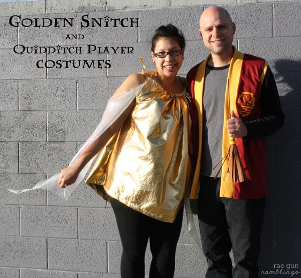 Tutorial: Harry Potter Golden Snitch Costume