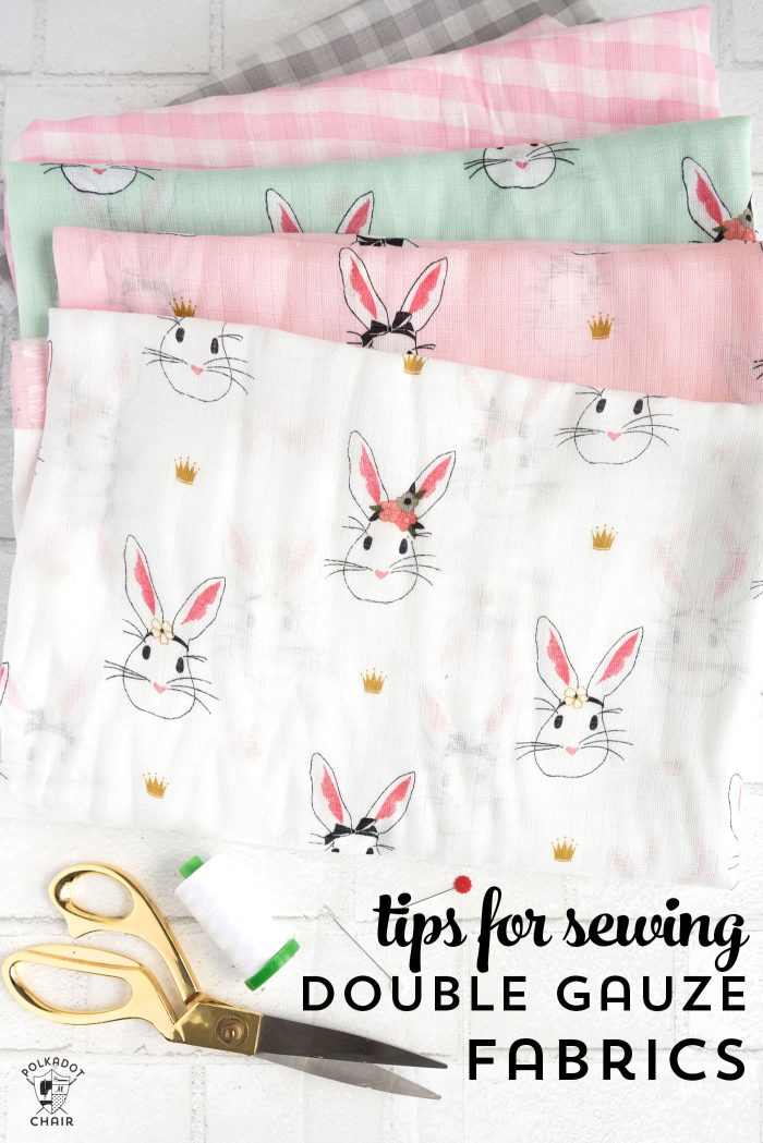 Tutorial Sewing On Double Gauze Fabric Sewing