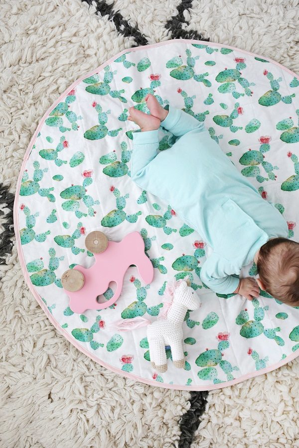 Tutorial: Round baby play mat