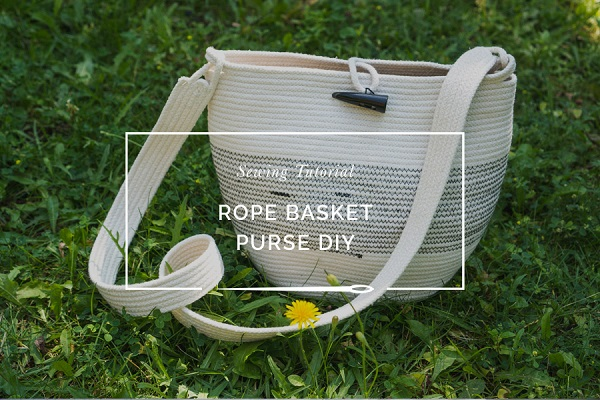 Tutorial: Rope basket purse