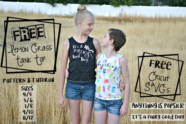 Tutorial and pattern: Kids tank top