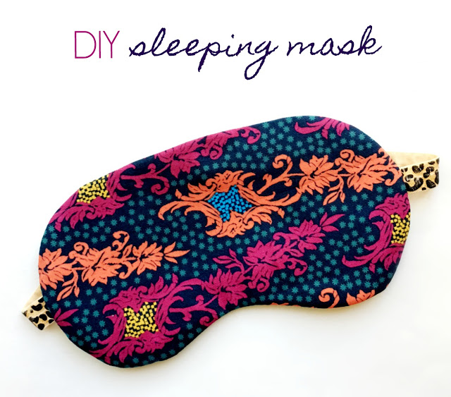 Tutorial: Sew a sleep mask