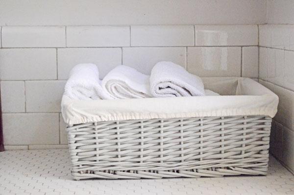 Tutorial: Custom liner to fit any rectangular basket