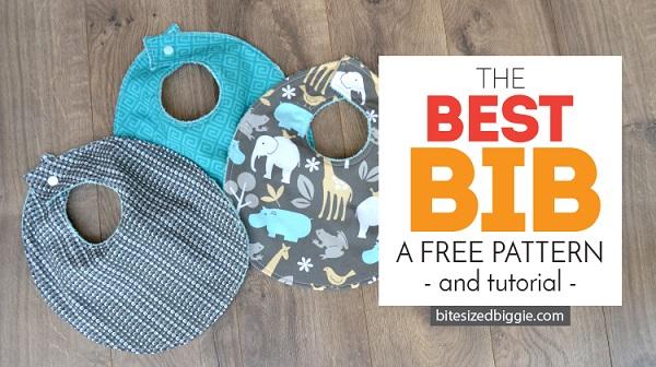 Tutorial and pattern: Best Baby Bib