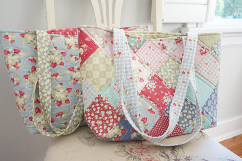 Tutorial Patchwork Tote Bag Sewing