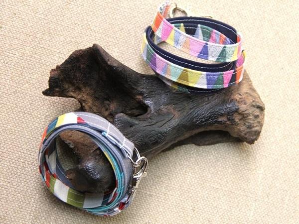 Tutorial: Scrap fabric wrap bracelets