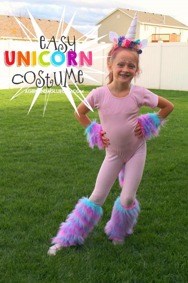 Tutorial: Easy unicorn costume you can make
