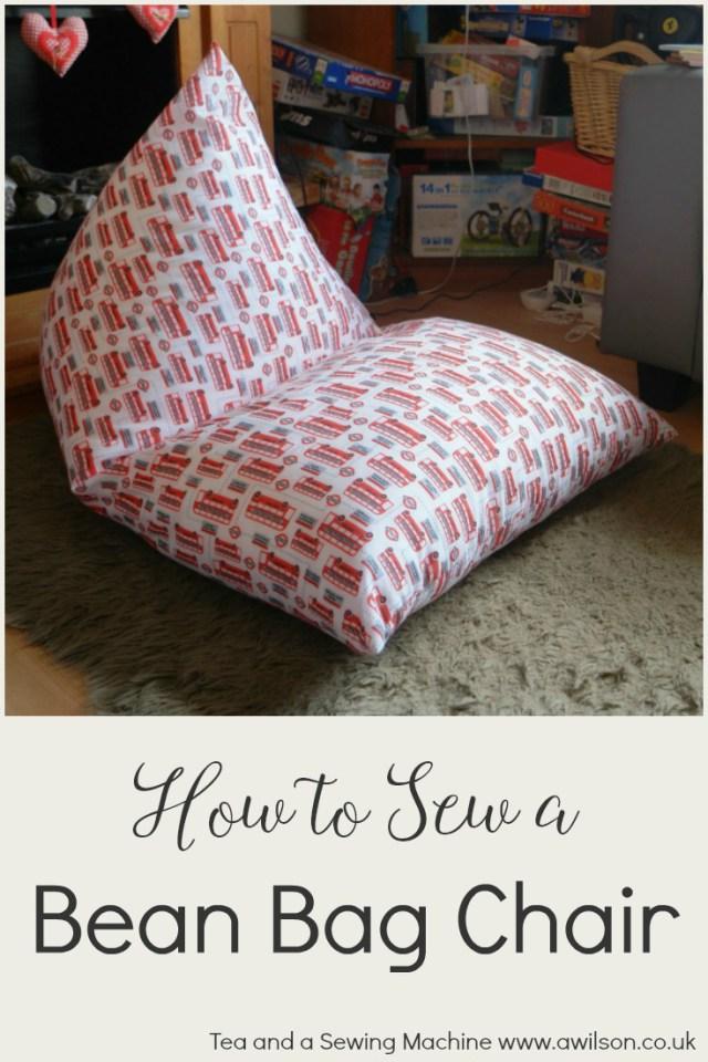Tutorial Easy Bean Bag Chair Sewing