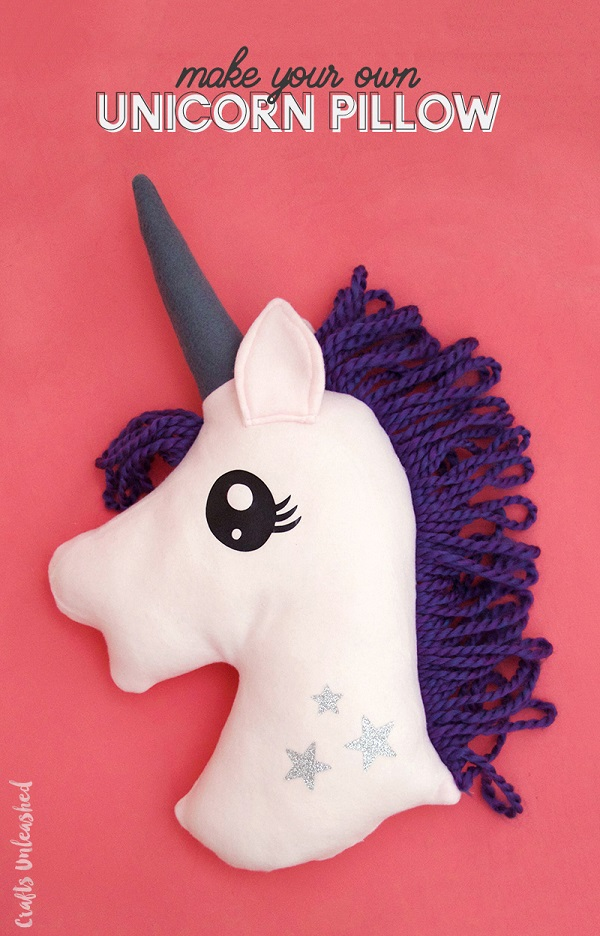 Tutorial And Pattern Unicorn Pillow Sewing