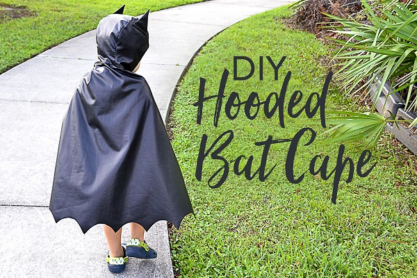 Tutorial: How to make a bat cape