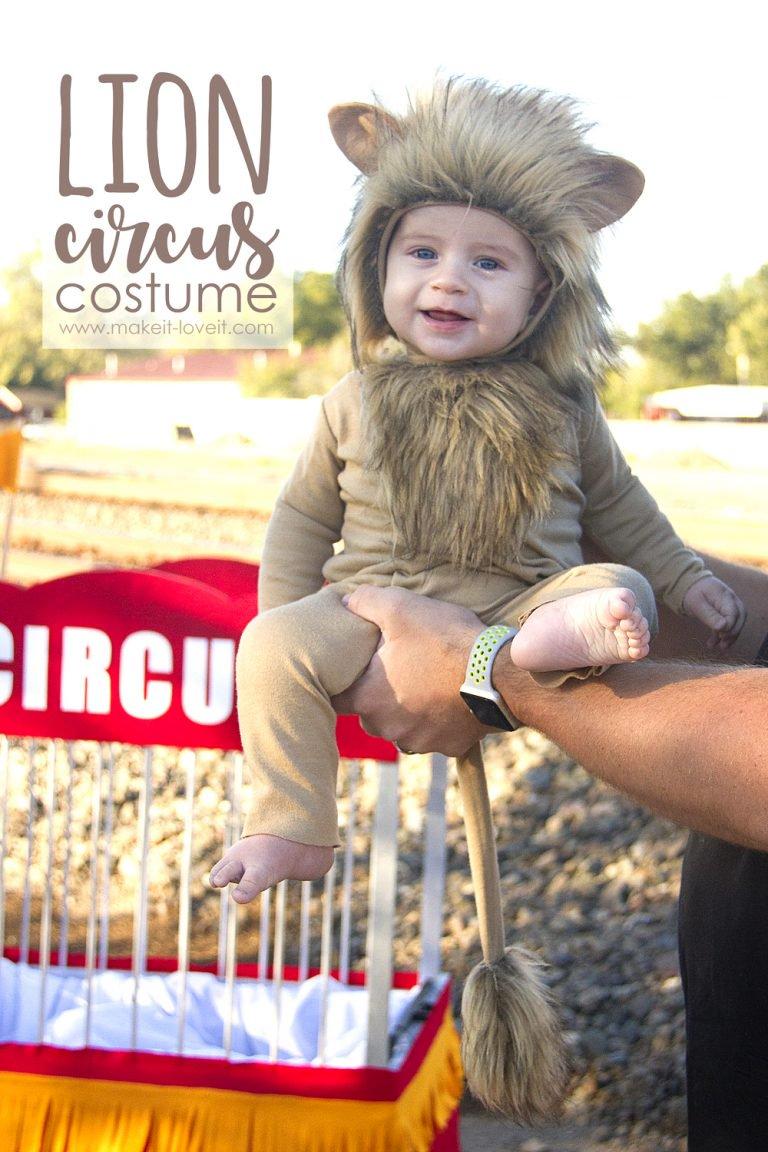 Tutorial Circus lion Halloween costume for baby  sc 1 st  Sewing @ CraftGossip & Tutorial: Circus lion Halloween costume for baby u2013 Sewing