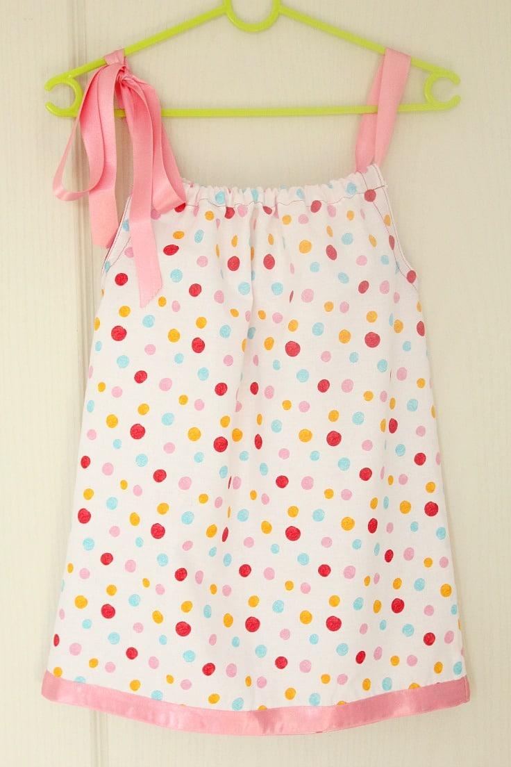 Tutorial: Pillowcase dress for beginner sewists