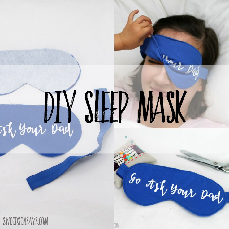 Tutorial And Pattern Sleep Mask Sewing