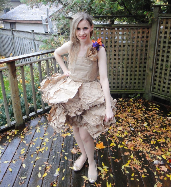 Tutorial: Paper Bag Princess costume